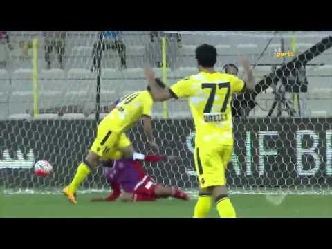 Al Wasl 2 x Shaab 0 AG League 13 02 2016  Goals