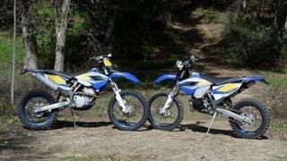 5. First Ride: 2013 Husaberg TE250 & FE350
