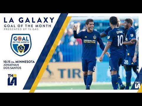 Video: Jona scores off a header | Goal of the Month - presented by 76 Gas