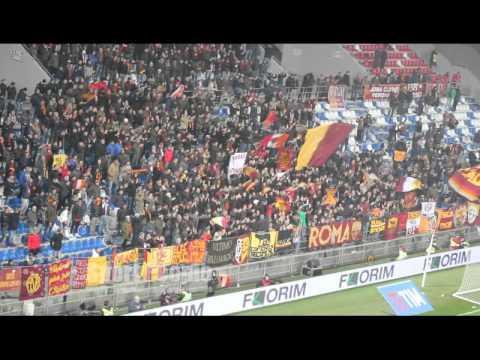 Ultras romanisti in trasferta a Reggio Emilia