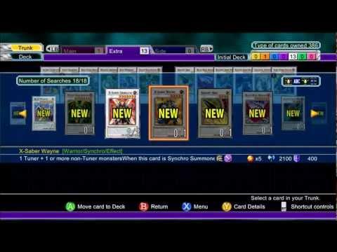yu gi oh 5d decade duels xbox 360 card list