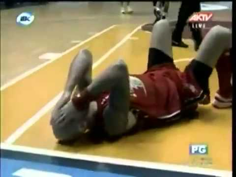 Fakest Basketball Flop Funny Video