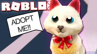 ADOPTING A KITTEN IN ROBLOX!