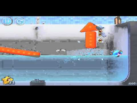 BreezeApps - This walkthrough showcases one way to beat level 1-6 in Shark Dash, and how to achieve a perfect 3 stars. For more walkthrough videos like this click the sub...
