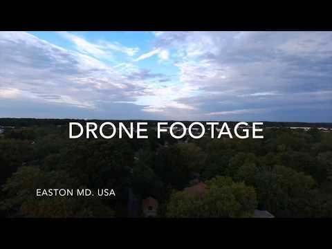 DRONE FOOTAGE EASTON MD.USA