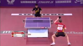 Table Tennis Highlights, Video - WTTC 2013 Highlights: Zhang Jike vs Patrick Baum (1/4 Final)