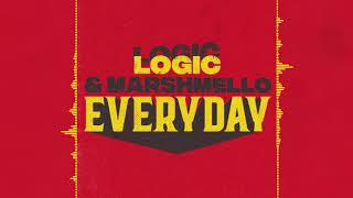 Video Marshmello & Logic - EVERYDAY (Audio) MP3, 3GP, MP4, WEBM, AVI, FLV Oktober 2018