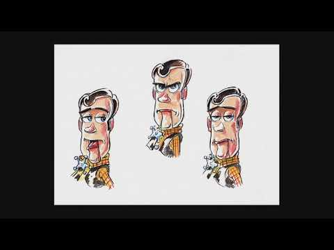 Toy Story Slideshow - Creating Woody!
