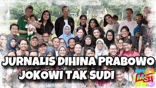 Video Jokowi Tak Sudi Jurnalis Di (hin) a oleh Prabowo MP3, 3GP, MP4, WEBM, AVI, FLV Desember 2018