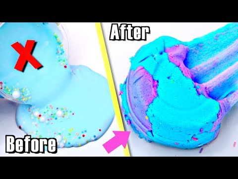 EXTREME SLIME MAKEOVERS! UGLY 1 Year Old Slime into NEW SLIME!