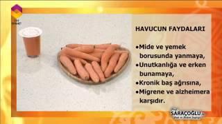 Havucun Faydaları -  Prof. Dr. İbrahim Saraçoğlu
