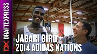 2014 Jabari Bird Interview - Draft Express - Adidas Nations