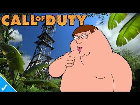 PETER GRIFFIN PLAYS BLACK OPS 2