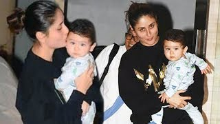 Kareena Kapoor CELEBRATES Her Birthday With Taimur Ali Khan