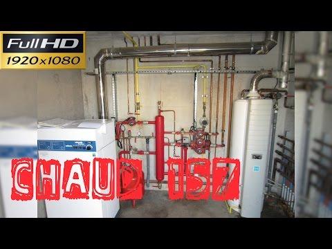 Chaud157-Une chaufferie qui a beaucoup de problèmes : régulateur, servomoteur, sonde, armoire elec