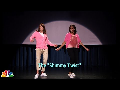 Evolution of Mom Dancing Part 2 w Jimmy Fallon  Michelle