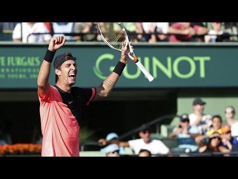 Τένις: Ο εκπληκτικός Κοκκινάκης απέκλεισε τον Φέντερερ