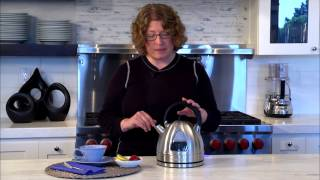 Cordless Electric Kettle Demo Video Icon