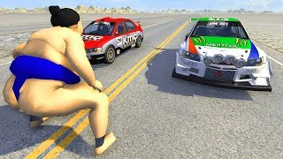 Drag Racing Crashes Japan Cars Edition Beamng Drive