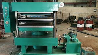 Rubber Tile Press Machine youtube video