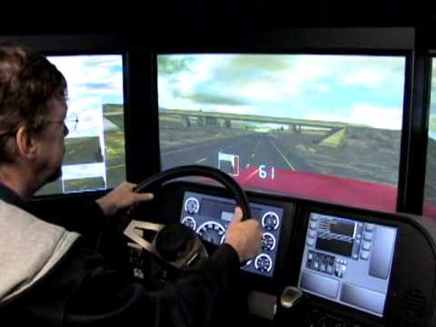 truck driving simulator