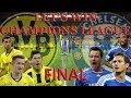 PES 2014 | Let's win Champions League with BVB | FINAL Borussia Dortmund vs Chelsea