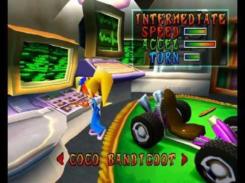 crash bandicoot team racing playstation 3