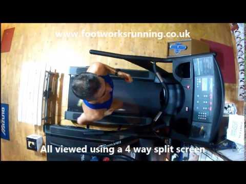 Footworks 4D Running Gait Analysis