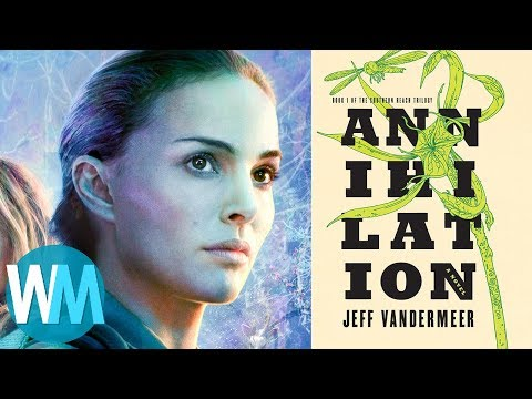 Top 10 Biggest Differences Between Annihilation Book And Movie