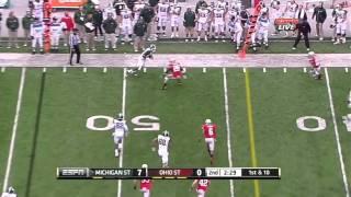 Kirk Cousins vs Ohio State (2011)