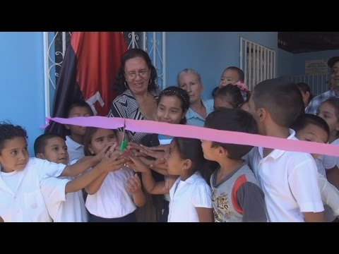 Alcaldia de Ocotal inaugura mejoras en Puesto de Salud Nora Astorga