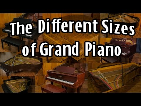 What are the Different Sizes of Grand Pianos?