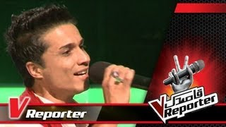 VReporter: Preview of Episode 7 of Blind Auditions (The Voice of Afghanistan)