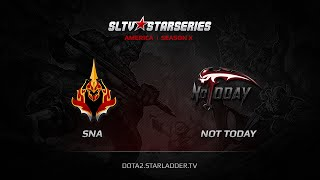 SNA vs NT, game 1