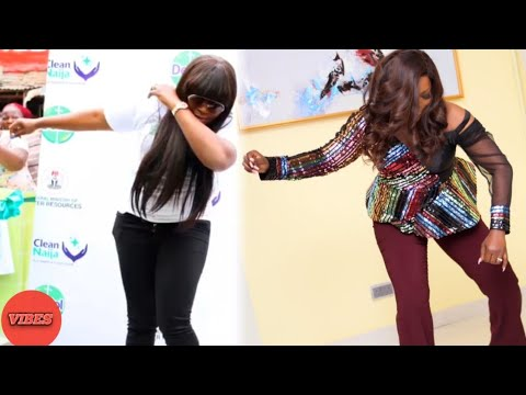 See Actress Funke Akindele Popular Dance Moves That No Nollywood Actress Can Beat