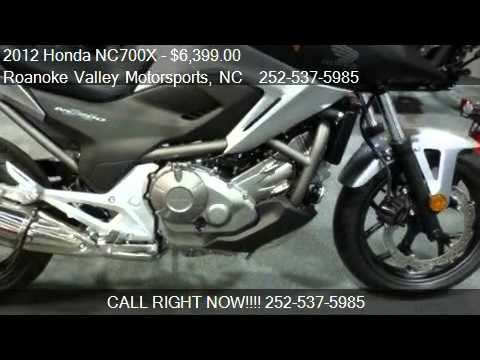 2012 Honda NC700X - - for sale in Roanoke Rapids, NC 27870