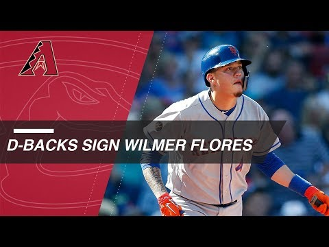 Video: Wilmer Flores enters free agency after Mets non tender