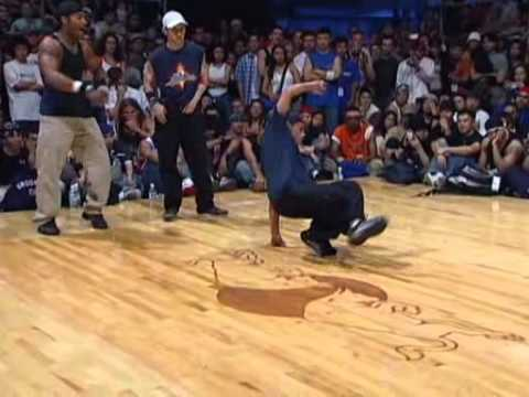Breakers - Rythm Bugz (Erik and Iron Monkey) Vs La Breakers (Frankie Flave and Ronnie Ruen) Red Bull Lord of the Floor 2.