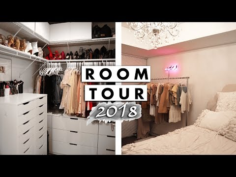 Bedroom and Closet Tour 2018 | Jaclyn Forbes