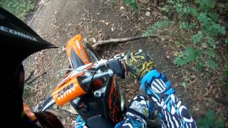 1. 2007 KTM 125sx - Trail Riding