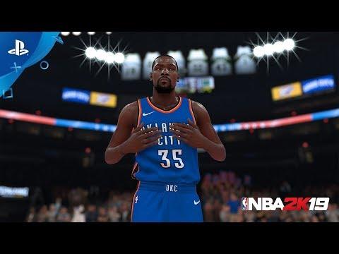 NBA 2K19 MyTEAM - Kevin Durant 20th Anniversary Packs | PS4 - Thời lượng: 26 giây.