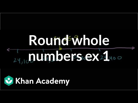 Rounding Whole Numbers 1