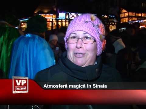 Atmosferă magică în Sinaia