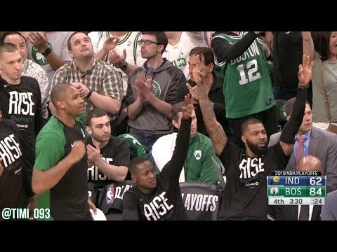 Boston Celtics R1G1 Defensive Highlights vs Indiana Pacers (04/14/2019)