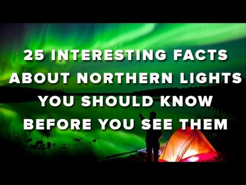 You) - Officially known as Aurora Borealis, the Northern Lights are one of nature's most spectacular visual phenomena. Appearing in many forms from patches or scattered clouds of light to streamers,...