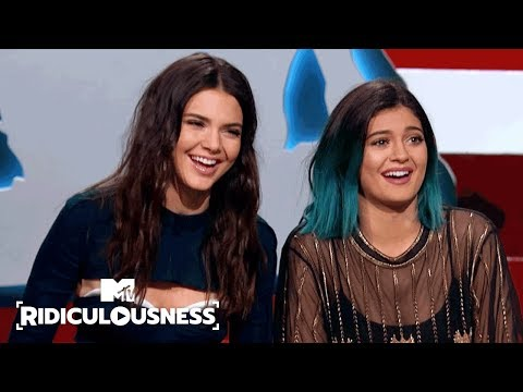 Kylie & Kendall Jenner on Kim Kardashian's Booty 🍑 | Ridiculousness | MTV