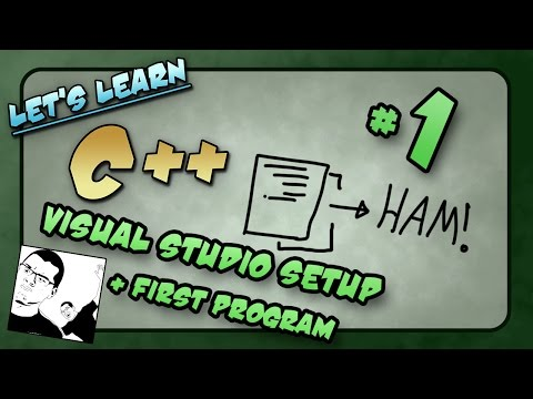 Let's Learn C++ ~ Basics: 1 of 14  ~ Visual Studio Setup + My First Program
