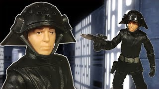 This is a review of the Star Wars: 40th Anniversary: The Black Series: Death Squad Commander 6 Inch action figure made by Hasbro.