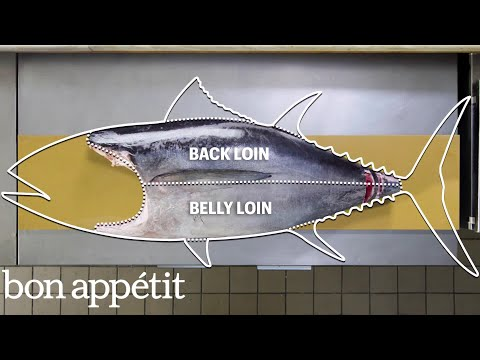 How to butcher an entire tuna
