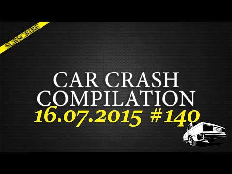 Car crash compilation #140 | Подборка аварий 16.07.2015
